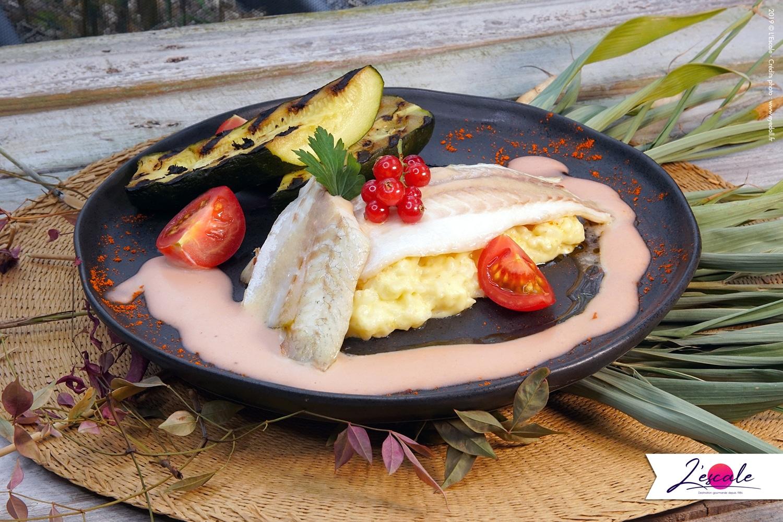 poisson-courgettes-grillées